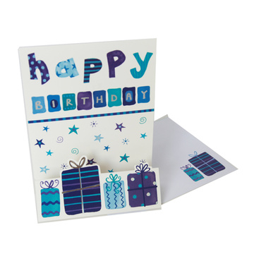 Niestandardowe Handmade Decoration Gift Greeting Card Printing