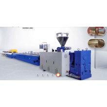 Máquina de extrudado del perfil compuesto plástico de los PP / del PE y de madera / que hace la máquina