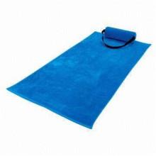 Serviette de plage en microfibre personnalisé fournisseur de la Chine, serviette de plage aliexpress