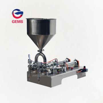 Máquina de llenado de agua para envasado de mantequilla de Nutella de llenado de crema