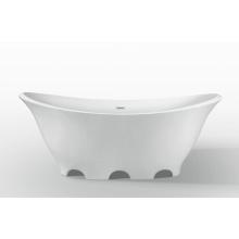 Современная акриловая автономная ванна