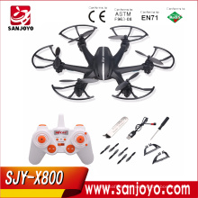 MJX X800 2.4G RC Quadcopter Drone RC Helicopter 6-axis WithC4005 WIFI FPV Camera Quadcopter Upgrade MJX X600 X400