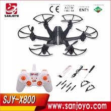 Mjx x800 2.4g rc quadcopter zangão rc helicóptero de 6 eixos WithC4005 WIFI FPV Câmera Quadcopter Atualização MJX X600 X400