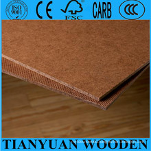 Decorative 2.3mm 2.5mm Hardboard Dark Brown Colour