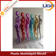 Grace chrome fashion and sexy plastic mannequin mould