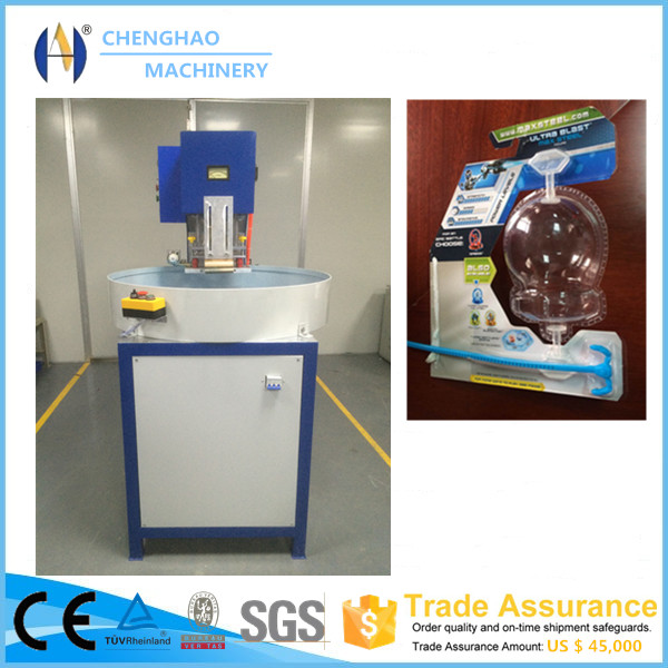 Auto-Turntable PET PVC Blister Packing Machine