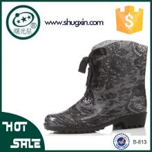 корейский дождь обувь пластиковые желе дождь ботинки женщин