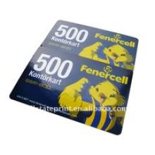 Cartões pré-pagos de rechamada / cartão de chamada de raspadinha