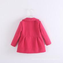 NOËL! filles manteaux hiver enfants mode gros hiver manteaux de nylon enfants vestes hiver bonne qualité 2017