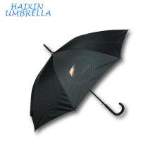 """Cadeaux promotionnels avec Logo sublimation bricolage 23 """"parapluie Ombrellone Glof Publicité automatique droite avec nervures en fibre de verre"""