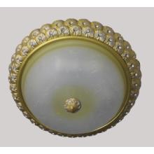 Lampe de plafond en résine avec teinte en verre (SL92643-3)