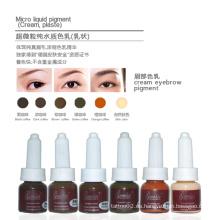Pigmento de la ceja de la crema del color de Goochie