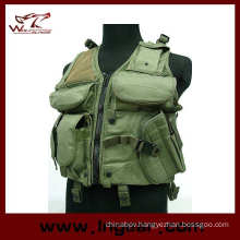 Military Airsoft Nylon Waterproof Hunting Combat Tactical Vest Protective Vest Type a