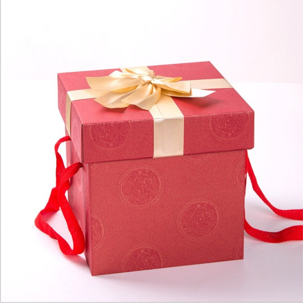 Bow-knot Pattern Decorated package
