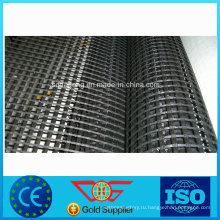Самоклеящийся битум стеклянные волокна с покрытием армирования Геосетка АЅТМ D 5261