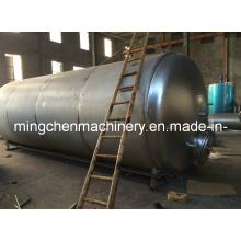 Grand réservoir de stockage d'allocations de corrosion