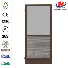 Riviera Bronze Outswing Metal Hinged Screen Door
