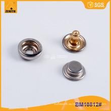Botón de presión rápida de metal de alta calidad BM10812