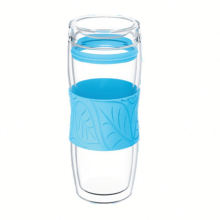 Tasse à thé en verre à la conception nouvelle conception personnalisée