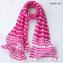 Онлайн полосатый шуршащая ткань оптом шарф