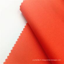 Tissus de vêtements spandex en coton teinté