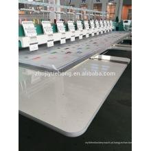 YUEHONG máquina de bordar plana 9 agulhas 12 cabeças
