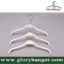 Cintre en contreplaqué blanc pour magasin de vêtements