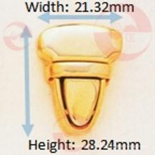 Serrure à poussoir triangulaire ultra mince du fournisseur HK