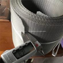Grillage tissé serti par acier inoxydable