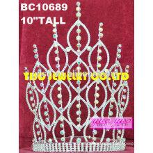 Accesorio joyas rhinestone boda tiaras accesorios
