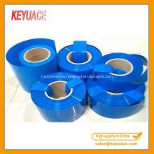 Batería del embalaje de la película del encogimiento del calor de PVC / PET