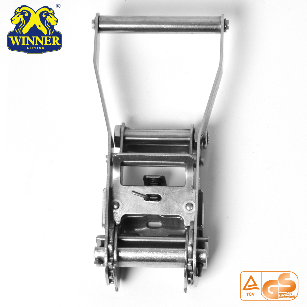 Stainless Customized Heavy Duty Stainless Steel Ratchet Buckle