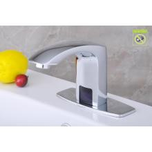 Solid Brass High Self-Controled Water Tap, Automatic Basin Faucet