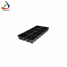 21/32/50/105 cavity black plastic nursery seed plant tray
