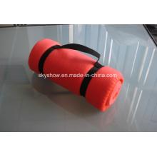 Флиса одеяло с нейлоновая сумка (SSB0125)