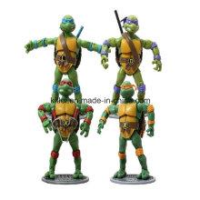 Jouets de bébé d'enfants de tortue en plastique d'OEM ICTI de Noël d'OEM PVC