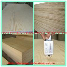 12 mm de agua de prueba de pegamento C + / C grado de pino de madera contrachapada