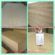 12mm Water Proof Glue C+/C Grade Pine Plywood