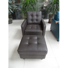 Sofá reclinable eléctrico USA L & P Mechanism Sofa Down Sofa (C456 #)