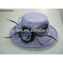 Sombrero barato sinamay de la promoción hecho en China