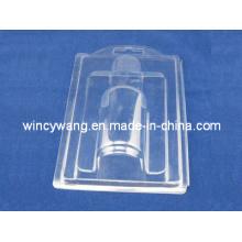 Blister transparente para garrafas ou cosméticos
