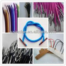 Провод с пластичным концом/витой шнур с зажимами/плетеный шнур с Барб