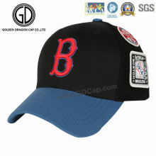 2016 New Design Era Embroidery Baseball Cap with Woven Badge