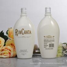 Große Körperpflege Glas Lotion Flaschen