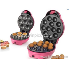 2-in-1 Cupcake Maker Cake Pop Maker Donut Maker, Interchangeable Donut Maker