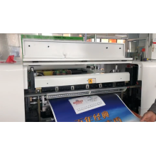 High Efficiency Two Reel Hamburger Wrapping Paper Sandwich Paper Cutting and Sheeting Machine
