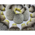More Density 26mm Natural Silvertip Badger Hair Knot