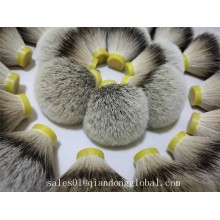 Very Dense Soft Tips Silvertip Badger Hair Knots