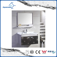 Modern Style Brown Furniture Classical Stainless Steel Bathroom Furniture
