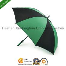 """50"""" arc automatique Windproof Golf parapluie avec poignée en caoutchouc (GED-0025FA)"""
